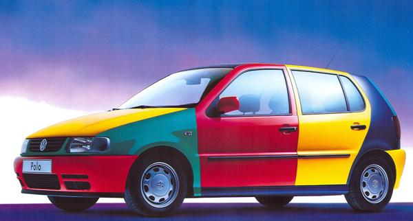VW Polo Harlekin 95 0203